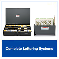 Complete Lettering Systems